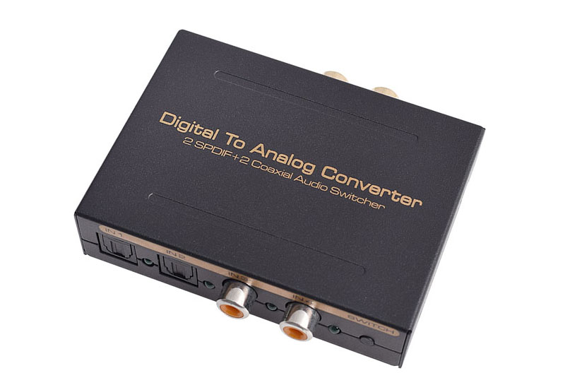 4 port Digital to Analogue Converter