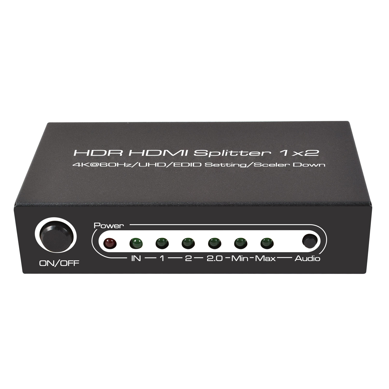 HDR HDMI Splitter 1x2