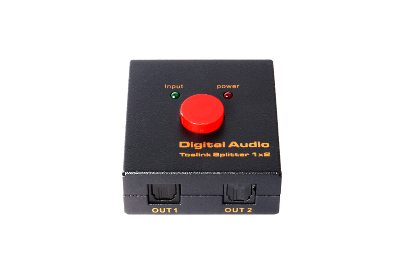 SPDIF/Toslink  Digital Audio splitter 1x2